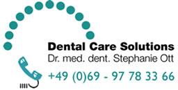 Dr. med. dent. Stephanie Ott – Ihr Zahnarzt in Frankfurt Bockenheim Logo